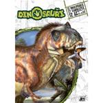 Omalovánky A4 +  samolepky Dinosauři