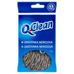 Q-Clean Drátěnka nerezová 2 ks