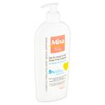 MIXA Baby vyživující mycí gel  a šampon pro děti na tělo a vlásky 400ml