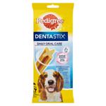 Pedigree Dentastix Denní péče o ústní dutinu 10-25kg 7 tyčinek 180g