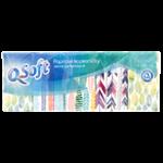 Q-Soft Papírové kapesníčky jemně parfemované 3-vrstvé 10x10ks