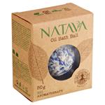 Natava Bio Aromatherapy olejová koule do koupele Cornflower 50g