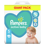 Pampers Active Baby Plenky Velikost 5 X64, 11kg-16kg