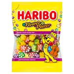 Haribo Flower Power želé kytičky s ovocnými příchutěmi 90g