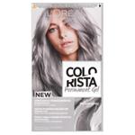 L'Oréal Paris Colorista Permanentní barva na vlasy Stříbřitě šedá 60+60+40ml