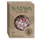Natava oil bath ball 50g Rose