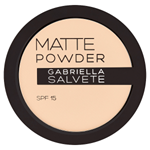 Gabriella Salvete Matující pudr s SPF 15 01 8g