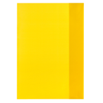 Obal na sešit A4 žlutý