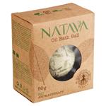 Natava Bio Aromatherapy olejová koule do koupele Lemon Grass 50g