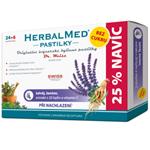 HerbalMed past. BEZ CUKRU Šalv+vitC 24+6