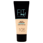 Maybelline Fit Me Matte + Poreless make-up 105 Natural Ivory
