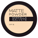 Gabriella Salvete Matující pudr s SPF 15 02 8g