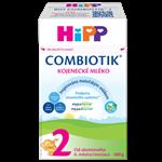 Pokračovací mléčná kojenecká výživa HiPP 2 BIO Combiotik 500 g