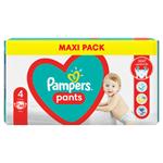 Plenkové Kalhotky Pampers Pants Velikost 4, 48 Plenky, 9kg-15kg