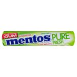 Mentos Pure Fresh žvýkačky s tekutou náplní s limetkovo-mátovou příchutí 8 ks 15,5g