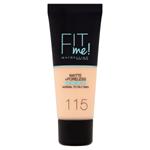 Maybelline Fit Me Matte + Poreless Make-Up 115 Ivory