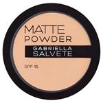Gabriella Salvete Matující pudr s SPF 15 04 8g