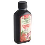 MaxiVita Herbal Bylinný elixír kanadské brusinky močové cesty brusinka echinacea + vitamin C 200ml
