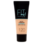 Maybelline Fit Me Matte + Poreless Make-Up 120 Classic Ivory