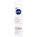 Nivea Deo Beauty Elixir Sensitive Deomilk Sprej antiperspirant 150ml