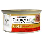GOURMET GOLD Melting Heart s hovězím 85g