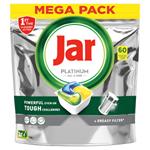 Jar Platinum Kapsle Do Automatické Myčky Nádobí Vše V Jednom Lemon, 60 Ks