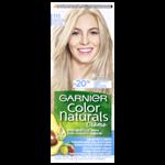 Garnier Color Naturals permanentní barva na vlasy 111 superzesvětlující popelavá blond,  60+40+12ml
