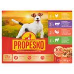 Propesko Kompletní krmivo pro dospělé psy všech plemen 12 x 100g