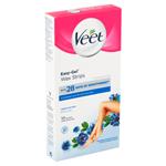 Veet Easy-Gel Voskové pásky pro citlivou pokožku 12 ks