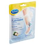 Scholl Expert Care vyživující maska na nohy s makadamovým olejem 1 pár navlékacích ponožek