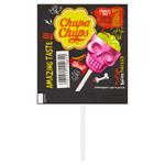 Chupa Chups 3D lízátko Skull Jahoda - Limeta 15g