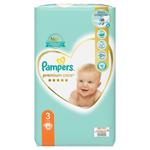 Pampers Premium Care Velikost 3, Plenky 60 ks, 6kg-10kg