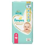 Pampers Premium Care Velikost 4, Plenky 52 ks, 9kg-14kg