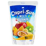 Capri-Sun Multivitamin nesycený nealkoholický ovocný nápoj 200ml