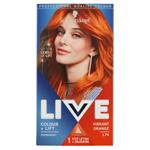 Schwarzkopf Live Colour + Lift barva na vlasy Vibrant Orange L74