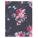 Box na spisy A4,4cm, PP Ladylike květy