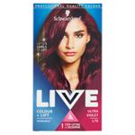 Schwarzkopf Live Colour + Lift barva na vlasy Ultra Violet L76