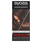 Syoss barva na vlasy Mahagonově Hnědý 4_2