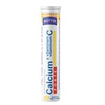 Biotter Calcium Forte s vitamínem C 20ks šum. tablet s citronovou příchutí  80g