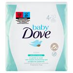 Baby Dove Sensitive Moisture vlhčené ubrousky 4 x 50 ks