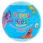 Happy Kids Šumivá bomba do koupele 100g - mix variant