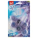 Q-Power Tuhý WC závěs Blue Aqua Lavender 2 x 40g