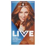 Schwarzkopf Live barva na vlasy Sladce Karamelová 7.57