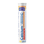 Biotter Calcium Forte s vitamínem C 20ks šum. tablet s pomerančovou příchutí 80g
