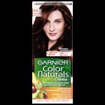 Garnier Color Naturals permanentní barva na vlasy 4.5 mahagonová, 60+40+12ml