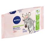 Nivea Micellar Biodegradable Micelární čisticí pleťové ubrousky 3 v 1 25 ks