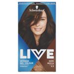 Schwarzkopf Live barva na vlasy Tmavě Hnědá 4.0