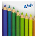 Q-Soft Papírové kapesníčky 3 vrstvé 60 ks