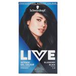 Schwarzkopf Live barva na vlasy Borůvkově Černá 1.4