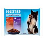 Reno Kompletní krmivo pro dospělé psy 4 x 100g
